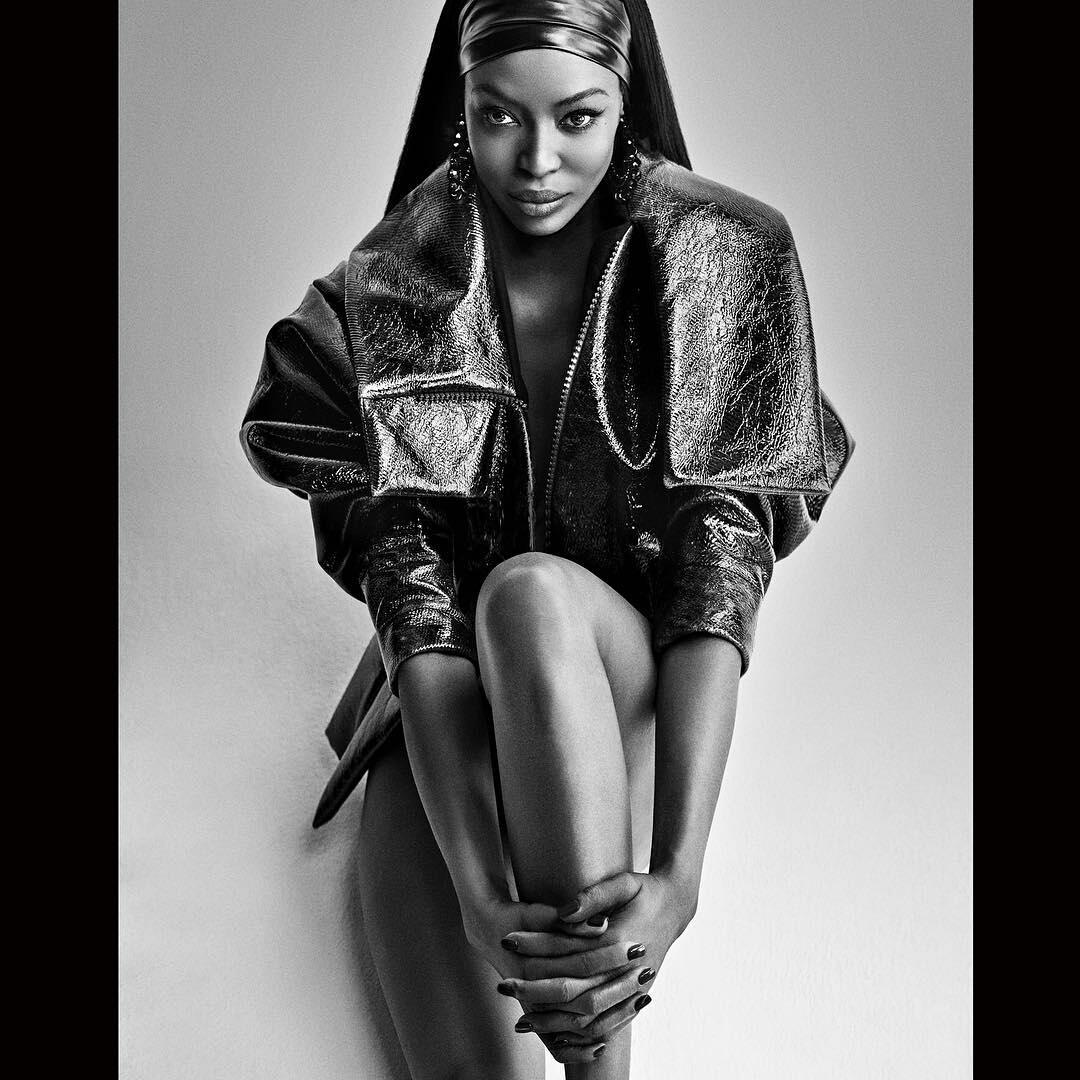 Kvetinas Naomi: The Fierce Naomi Campbell Covers The